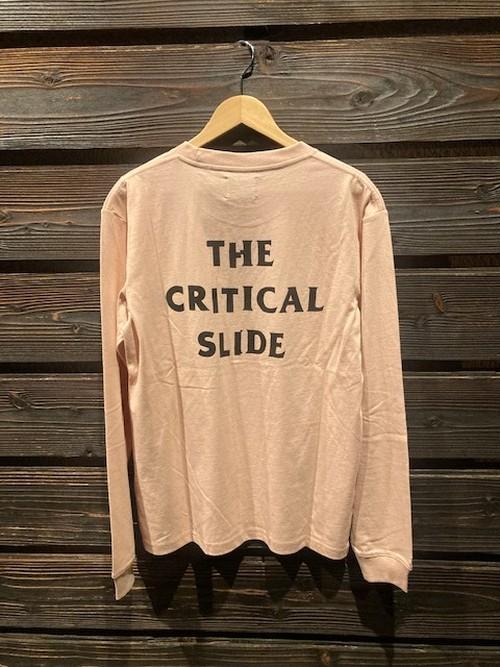 Critical Slide  Vandal L/S Tee TESMU2009  D.Pink  Mサイズ