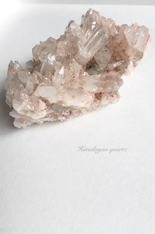 【ヒマラヤ水晶】聖地のパワーを秘めた!美しきヒマラヤのクラスター♡