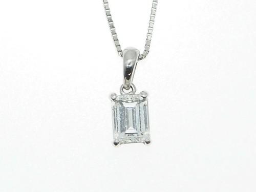 【PT900】0.705ct UP ダイヤモンドネックレス