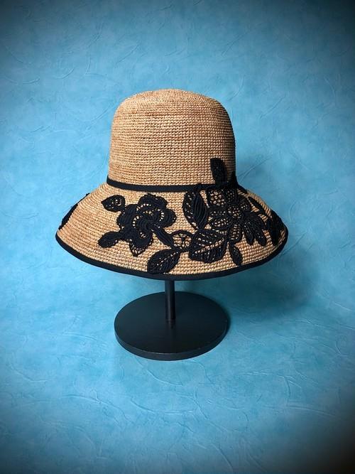 leaf flower hat   (リーフフラワーハット) 6月22日まで