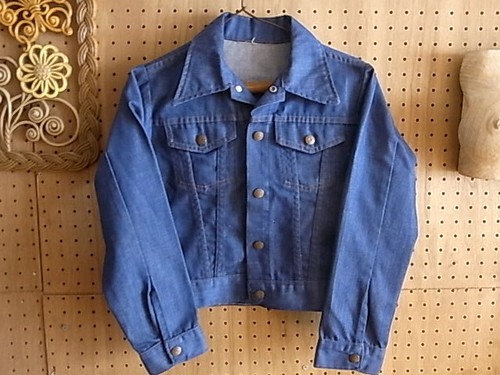 70'S WARDS POWER DENIM KIDS JACKET