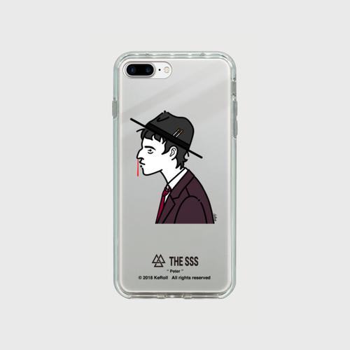 iPhonePlus用 ミラーケース(シルバー) Peter