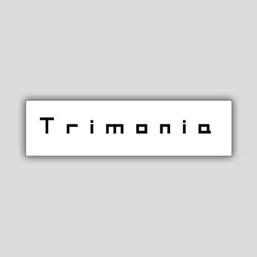 [Sticker] Trimonia / ロゴステッカー (BIGサイズ)