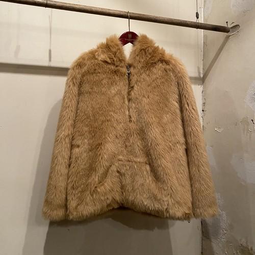 Fakefur Hooded Jacket