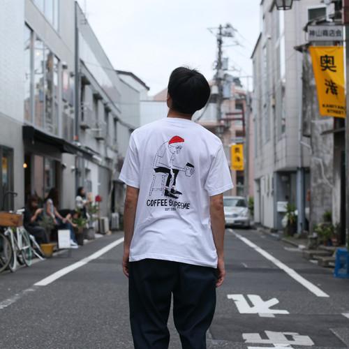 TOKYO限定 Yusuke Hanai x Coffee Supreme Tシャツ