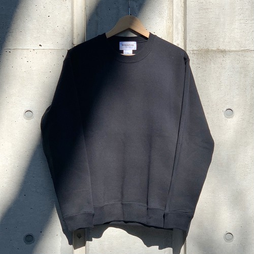 TAG CREW NECK(BLACK)