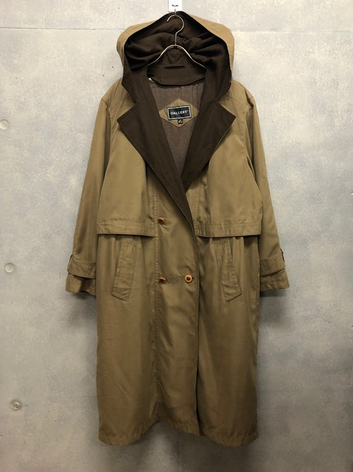 USED - Hooded Coat ¥16500+tax