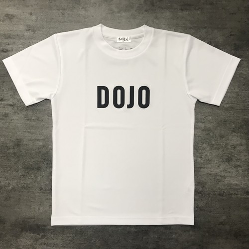 DOJO T-shirt WHITE×BLACK
