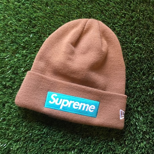 【SUPREME】 -シュプリーム-FW17 NEW ERA BOX LOGO BEANIE RUST