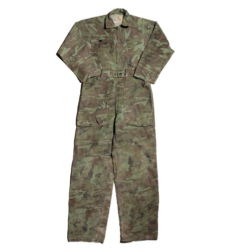 Ideal 80sVintage CamouflageJumpSuits