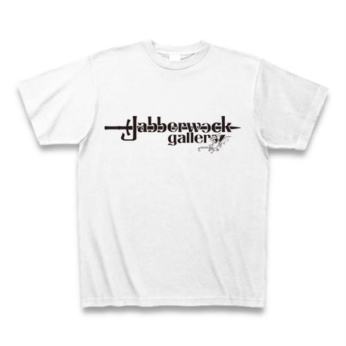 Jabberwock gallery ロゴTシャツ