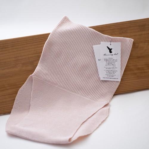 シルク(絹紡糸)リンパフリー腹巻きパンツ