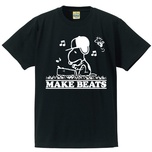 [MAKE BEATS] T-shirt / Black