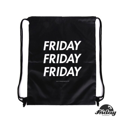 Friday | Rope Bag | Black