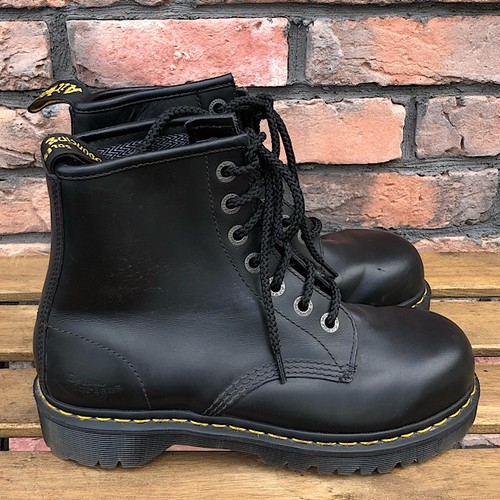 Dr.Martens 7 Eyelet Industrial Steel Toe Safety Shoe UK7
