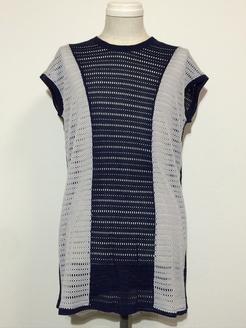 CONVERSION MESH VEST -NAVY / GRAY-