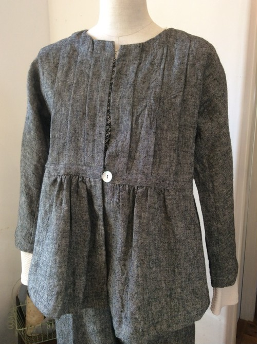 si-si-si comfort Linen canvas jacket