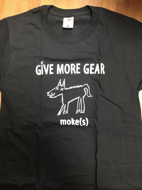 moke(s)駄馬Tシャツ BLACK