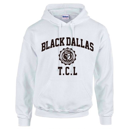 TCLxBD PULLOVER HOODIE WHT