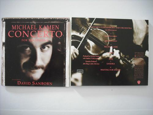 【CD】MICHAEL KAMEN / CONCERTO FOR SAXPHONE