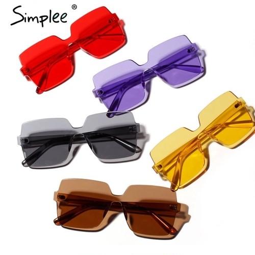 ♡送料無料♡ 5色 import Sunglasses ~ カラー サングラス【お取り寄せ】