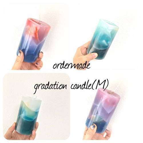 ◆order made◆ gradation candle(M)
