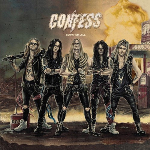 "【特典付き】CONFESS ""Burn 'Em All"""
