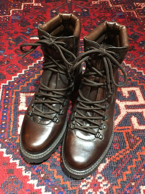.MAGNANNI LEATHER MOUNTAIN BOOTS MADE IN SPAIN/マグナーニレザーマウンテンブーツ 2000000031514