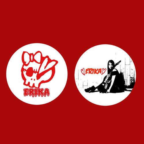 ERIKA缶バッジ(2個セット)