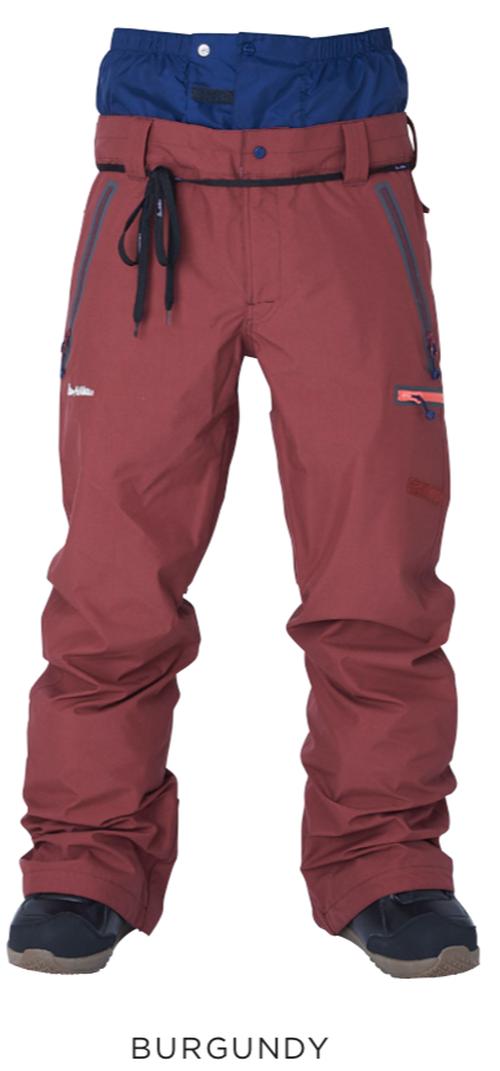 <予約商品> 2019-20 rew THE STRIDER PANTS 16STRAIGHT FIT カラー:BURGUNDY