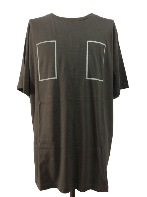 RECTANGLE SHORT SLEEVES -CHARCORL-