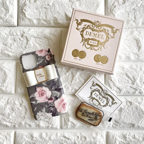gray and rose iphone case