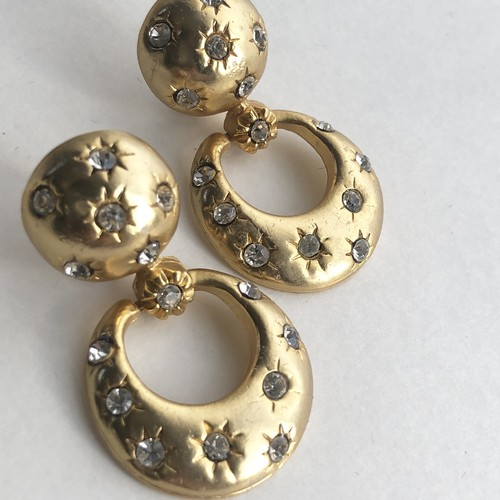 Vintage bijou ring earrings No.704*
