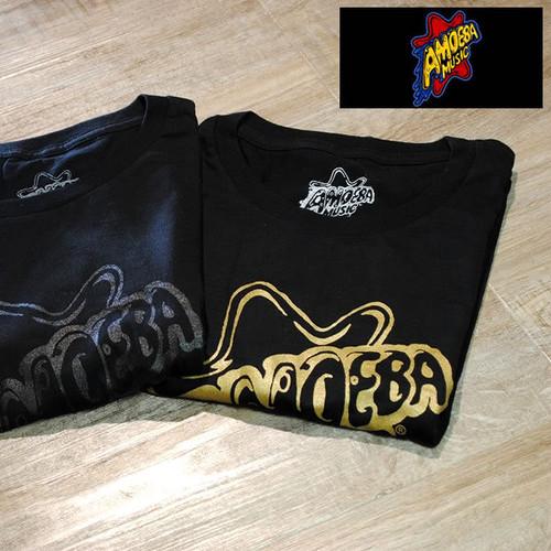 【Amoeba Music(アメーバミュージック)】 BLACK LOGO T-SHIRT/オリジナル コットン ロゴTシャツ■2カラー【amm001-all】