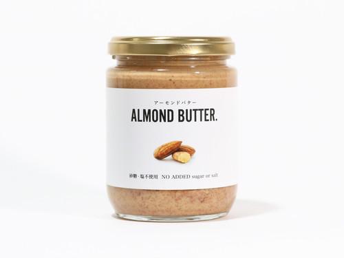 ALMOND BUTTER.「砂糖・塩不使用 / No Added Sugar or Salt」240g