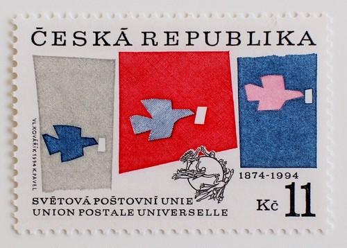 UPU120年 / チェコ 1994