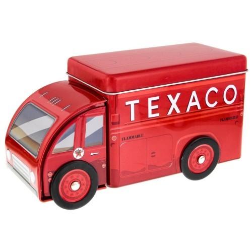 <US>Texaco トラック ティン ボックス 20×10cm