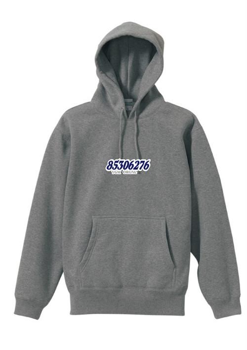 phonetic symbol Hooded Sweatshirt (GRAY)