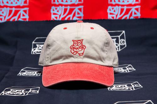 CRASTY 2TONE 6 PANEL CAP