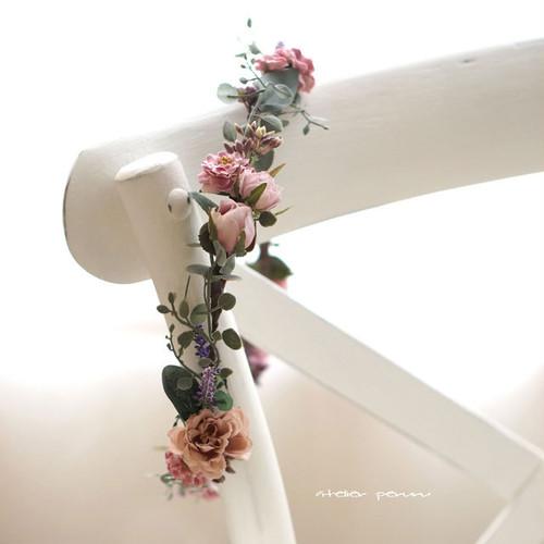 フレンチシックな 花冠