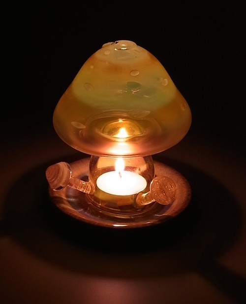 "Candle Holder ""きのこの灯り"""