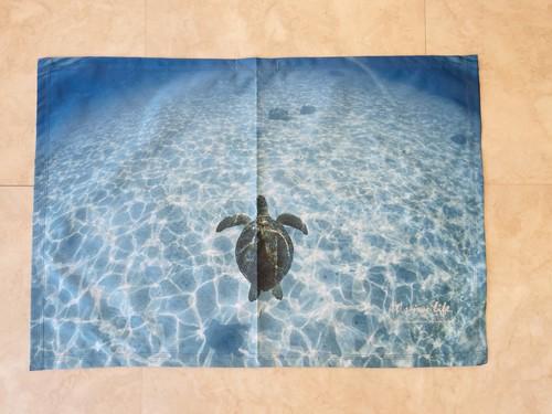 オリジナルビーチタオル「Turtle」Sサイズ