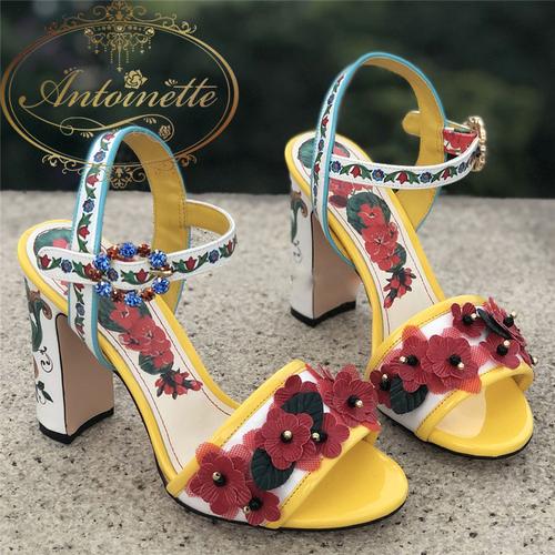3カラー レディース 靴 フラット シューズ キラキラ サンダル 花柄 かわいい きれい おでかけ 結婚式 二次会 デート 初夏