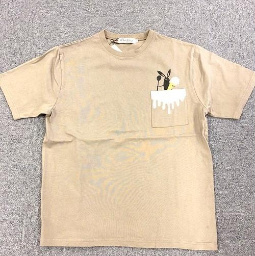 Shabby 「Pocket Ice」 T-shirts Greige