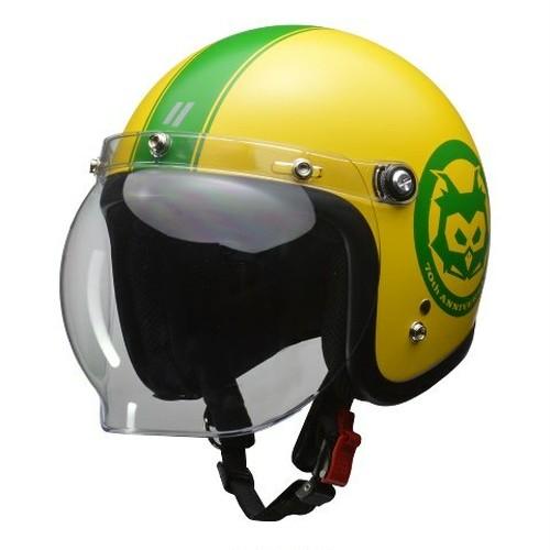 LEAD ジェットヘルメット MOUSSE 70th 限定モデル マスタード