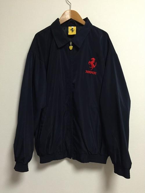 2000's Ferrari licensed nylon jacket