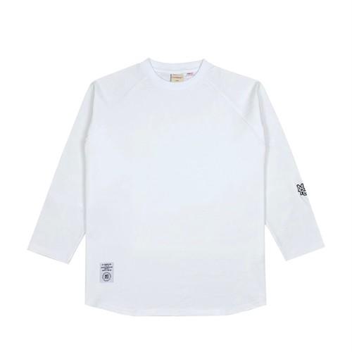 MFC STORE x Goodwear 7L RAGLAN TEE / WHITE x WHITE