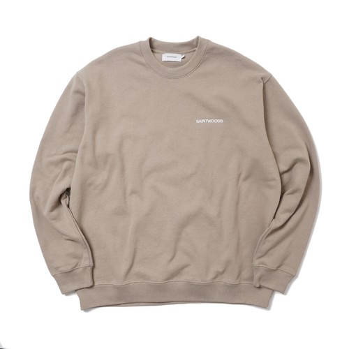 SAINTWOODS SWEAT SHIRT(SAND)