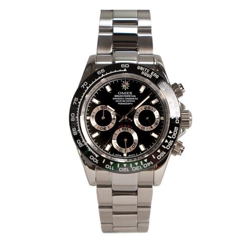 【予約販売・10月中旬発送予定】OMEX DENMA オメックス デンマ メンズ 男性 腕時計 日本製 ムーブメント