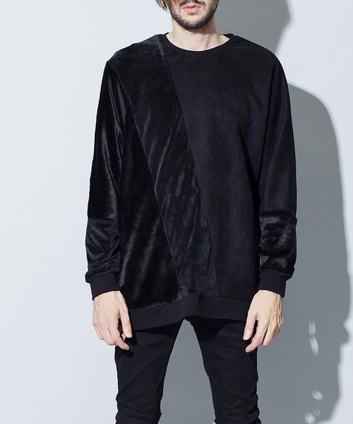 Boa Switch Dolman Sleeve C/N-Pullover Black